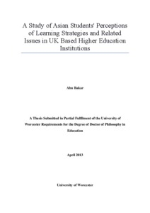 thesis on higher education in pakistan